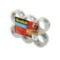 "Scotch 3500 Packaging Tape, 2"" x 55 Yards, 3"" Core, Clear, Six per Box"