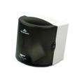 Sofpull Center Pull Hand Towel Dispenser, 10-1/2w x 9-3/4d x 10h, Smoke