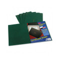 Certificate Holder, Linen Stock, Green, 5 per Pack