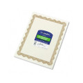 Parchment Paper Certificates, 8-1/2 x 11, Optima Gold Border, 25 per Pack