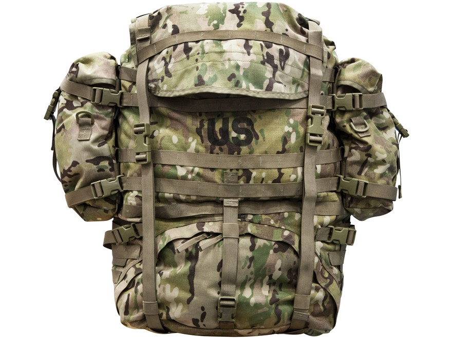MOLLE Rucksack, RFI Issue, MultiCam (OCP), Complete, NSN