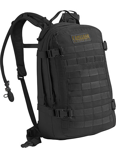 ebb4607ed9 Camelbak Mil-Tac HAWG 3.0L (100oz) Hydration Pack, Black, Mil-Spec ...