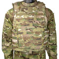 Improved Outer Tactical Vest (IOTV), GEN II, BASE VEST ASSEMBLY ONLY, MultiCam, Small, NSN 8470-01-583-9534