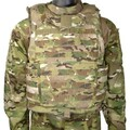 Improved Outer Tactical Vest (IOTV), GEN II, BASE VEST ASSEMBLY ONLY, MultiCam, Large, NSN 8470-01-583-9543