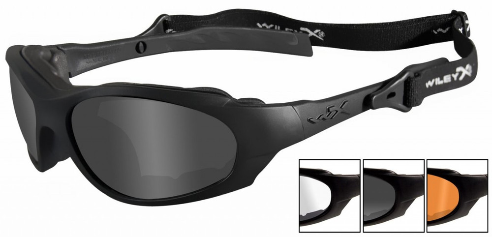 30ab2d474c50 Wiley-X CHANGEABLE XL-1 ADVANCED Smoke Grey - Clear - Light Rust ...