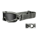 Wiley-X GOGGLES SPEAR, Smoke Grey - Clear/Foliage Green, NSN: 4240-01-600-1791