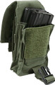 PROTECH TACTICAL, TACTICAL POUCHES AMMUNITION / MAGAZINE, M4 Mag Pouch - Stacked - Double, P/N: TP4