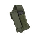 PROTECH TACTICAL, TACTICAL POUCHES AMMUNITION / MAGAZINE, Side Arm Mag Pouch - Double, P/N: TP10A