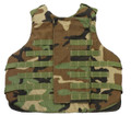 Body Armor, Interceptor (IBA), Outer Tactical Vest (OTV), NSN 8470-01-497-8598, Woodland Camo, X-Large