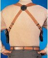 BIANCHI LEATHER SHOULDER, AGENTå¨ X HARNESS, Model No. X16B