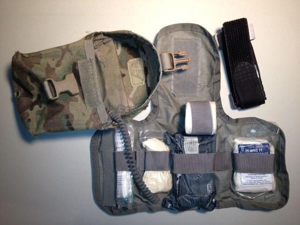 U S  Army Improved First Aid Kit (IFAK), NSN 6545-01-584