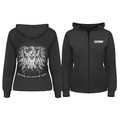 Women's BH! Crest Hoodie, Black, Size Large, 92GH00BK-LG