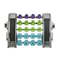 TKO CARDIO PUMP GROUP PACK - 20 SETS PLUS RACK, 834CPAC