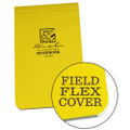 RITE IN THE RAIN 378 (3 X 5 1/4 FIELD-FLEX TOP BOUND BOOK - YELLOW)