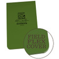 RITE IN THE RAIN 978 (3 X 5 1/4 FIELD-FLEX TOP BOUND BOOK - GREEN)