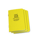 RITE IN THE RAIN 371FX-M (STAPLED MINI-NOTEBOOK - UNIVERSAL - YELLOW - 3 PACK)