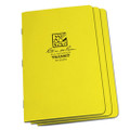 RITE IN THE RAIN 351FX (STAPLED NOTEBOOK - FIELD FLEX - FIELD - YELLOW - 3 PACK)