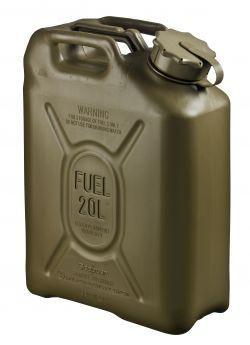 Fuel Can Plastic 5 Gallon Od Green Nsn 7240 01 337