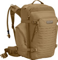 CamelBak 2019 BFM Hydration Pack, Coyote Tan, with 100oz (3.0L) Mil-Spec Crux Reservoir