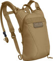 "CamelBak 2019 ThermoBak ""S"" Hydration System, Coyote Tan, with 100oz (3.0L) Mil-Spec Crux (Short) Reservoir"