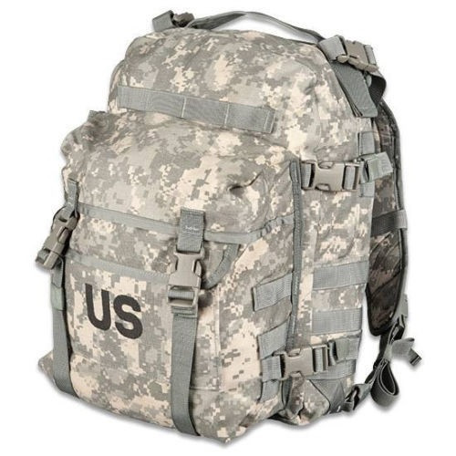 """""""Butt Pack/"""" NSN 8465-01-524-7263 MOLLE Waist Pack USED ACU Pattern"""