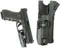 Blackhawk: Serpa Level 3 Xiphos Duty Holster w/Light Matte (44H600BK-L, 44H600BK-R, 44H613BK-R)