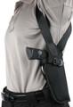 Blackhawk: Vertical Shoulder Holster Sz 15 Right (40VH15BK-R)