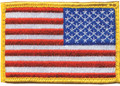 Blackhawk: Patch, American flag Red, White, Blue w/hook & loop (90RWBV)
