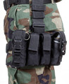 Blackhawk: Omega Elite Pistol Mag/Flashbang Pouch Adj Lid (56PMFBBK) (NSN: 8465-01-555-3267)