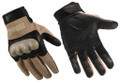Wiley-X CAG-1 Combat Assault Gloves, Coyote Tan