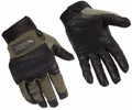 Wiley-X Hybrid Gloves, Foliage Green