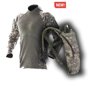 sale new concept excellent quality Army Combat Shirt + CamelBak ThermoBak Omega 3L (100oz) Hydration ...