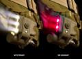 Surefire HL1-C-TN Tactical Helmet Light / Military Helmet mount flashlight, NSN: 6220-01-549-4203