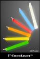 Cyalume 6-inch Orange High-Intensity (5 Minute) Chemlights, NSN 6260-01-247-0363