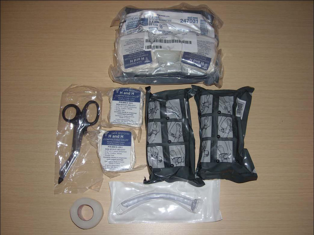 Trauma Module, for USAF IFAK or Mass-Casualty First-Aid Kit