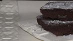 Choco-coconut azuki bean brownies