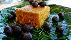 Maple Sweet Corn Polenta Cake