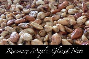 Rosemary Maple-Glazed Nuts Recipe