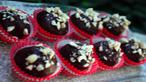 Dark Chocolate Cashew Pecan Truffles