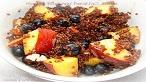 Peach and Blueberry Breakfast Quinoa