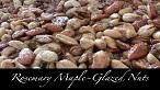 Rosemary Maple-Glazed Nuts