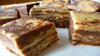 Vegan Peanut Butter Chocolate Marble Fudge