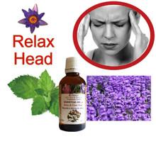 頭痛、偏頭痛舒緩精油