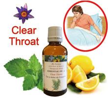 天然精油緩解喉嚨疼痛、咳嗽
