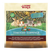 Living World Timothy Toppings w/Flowers and Herbs - 17oz