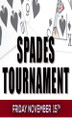 MEN'S SPADES TOURNAMENT