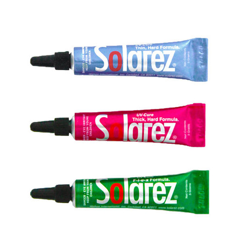 Solarez Fly-Tie UV Resin 3 Pack