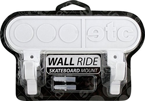 Etcetera Wall Ride Skateboard Mount l White