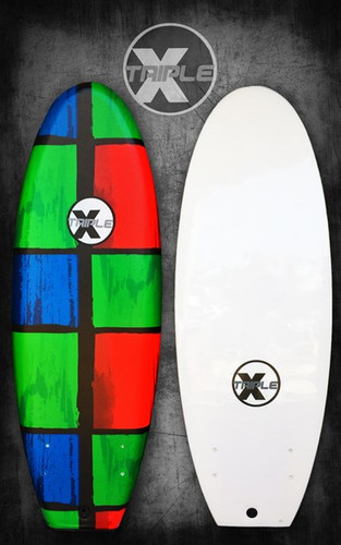 "4' 11"" Outcast Black Ball Surfboard/Chaos"