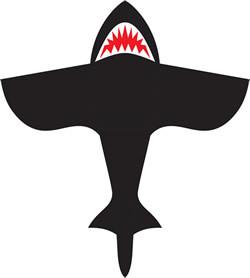 HQ Single Line Shark Kite 4FT